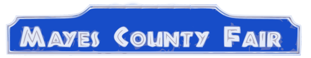 Mayes County Fair Logo without Year