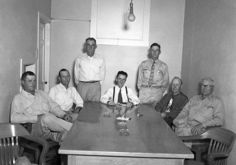 Mayes County Fair Board May 1956